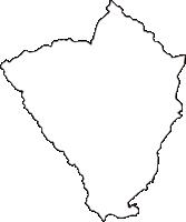 静岡県賀茂郡東伊豆町(ひがしいずちょう)の白地図無料ダウンロード