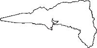 静岡県駿東郡小山町(おやまちょう)の白地図無料ダウンロード
