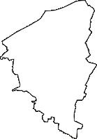 愛知県江南市(こうなんし)の白地図無料ダウンロード