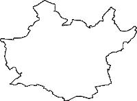 愛知県知立市(ちりゅうし)の白地図無料ダウンロード