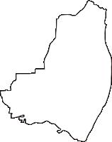 愛知県岩倉市(いわくらし)の白地図無料ダウンロード