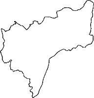 愛知県愛知郡東郷町(とうごうちょう)の白地図無料ダウンロード