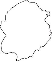 愛知県西春日井郡豊山町(とよやまちょう)の白地図無料ダウンロード