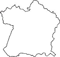 愛知県知多郡阿久比町(あぐいちょう)の白地図無料ダウンロード