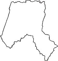 愛知県知多郡美浜町(みはまちょう)の白地図無料ダウンロード