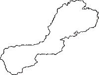 三重県松阪市(まつさかし)の白地図無料ダウンロード