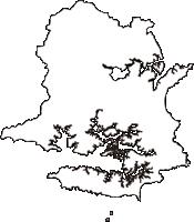 三重県志摩市(しまし)の白地図無料ダウンロード