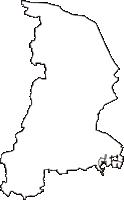 三重県多気郡明和町(めいわちょう)の白地図無料ダウンロード