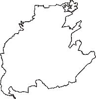 三重県度会郡玉城町(たまきちょう)の白地図無料ダウンロード