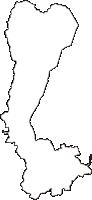 滋賀県大津市(おおつし)の白地図無料ダウンロード