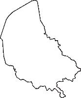 滋賀県近江八幡市(おうみはちまんし)の白地図無料ダウンロード