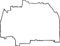 京都府京都市上京区(かみぎょうく)の白地図無料ダウンロード