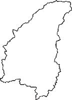 京都府船井郡京丹波町(きょうたんばちょう)の白地図無料ダウンロード