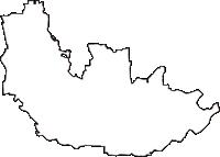 大阪府羽曳野市(はびきのし)の白地図無料ダウンロード