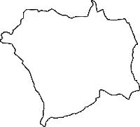大阪府門真市(かどまし)の白地図無料ダウンロード