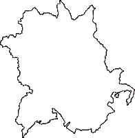 兵庫県赤穂市(あこうし)の白地図無料ダウンロード