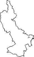 兵庫県宝塚市(たからづかし)の白地図無料ダウンロード