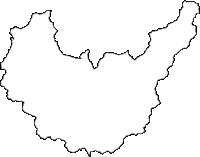 兵庫県神崎郡神河町(かみかわちょう)の白地図無料ダウンロード