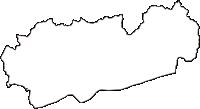 奈良県吉野郡大淀町(おおよどちょう)の白地図無料ダウンロード