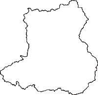 和歌山県紀の川市(きのかわし)の白地図無料ダウンロード