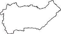 和歌山県海草郡紀美野町(きみのちょう)の白地図無料ダウンロード