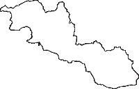 和歌山県有田郡湯浅町(ゆあさちょう)の白地図無料ダウンロード