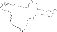 和歌山県西牟婁郡白浜町(しらはまちょう)の白地図無料ダウンロード