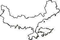 和歌山県東牟婁郡串本町(くしもとちょう)の白地図無料ダウンロード