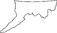 鳥取県東伯郡北栄町(ほくえいちょう)の白地図無料ダウンロード