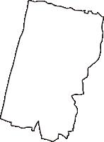 鳥取県西伯郡日吉津村(ひえづそん)の白地図無料ダウンロード