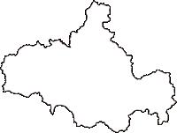島根県邑智郡川本町(かわもとまち)の白地図無料ダウンロード