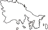 島根県隠岐郡知夫村(ちぶむら)の白地図無料ダウンロード