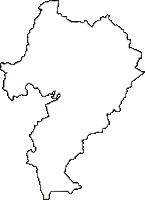 岡山県浅口市(あさくちし)の白地図無料ダウンロード