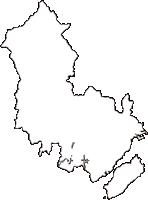 広島県廿日市市(はつかいちし)の白地図無料ダウンロード