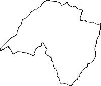 広島県安芸郡海田町(かいたちょう)の白地図無料ダウンロード