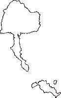 山口県柳井市(やないし)の白地図無料ダウンロード