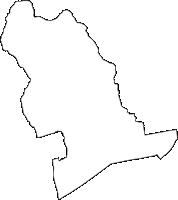 徳島県板野郡上板町(かみいたちょう)の白地図無料ダウンロード