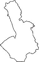 香川県仲多度郡琴平町(ことひらちょう)の白地図無料ダウンロード
