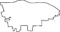 愛媛県伊予郡松前町(まさきちょう)の白地図無料ダウンロード