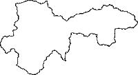 高知県高岡郡津野町(つのちょう)の白地図無料ダウンロード