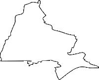 福岡県三井郡大刀洗町(たちあらいまち)の白地図無料ダウンロード