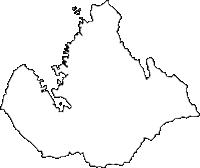 佐賀県伊万里市(いまりし)の白地図無料ダウンロード