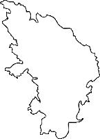佐賀県東松浦郡玄海町(げんかいちょう)の白地図無料ダウンロード