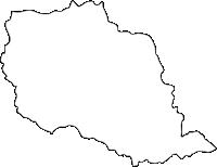 佐賀県西松浦郡有田町(ありたちょう)の白地図無料ダウンロード