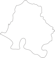 佐賀県杵島郡大町町(おおまちちょう)の白地図無料ダウンロード