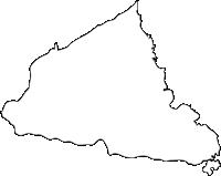 佐賀県藤津郡太良町(たらちょう)の白地図無料ダウンロード