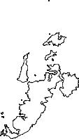 長崎県平戸市(ひらどし)の白地図無料ダウンロード