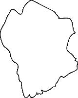 長崎県北松浦郡佐々町(さざちょう)の白地図無料ダウンロード