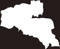 熊本県熊本市南区(みなみく)の白地図無料ダウンロード
