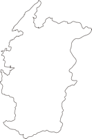 熊本県葦北郡芦北町(あしきたまち)の白地図無料ダウンロード